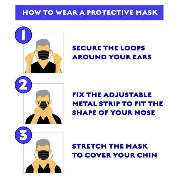 Black Mask 50 Piece 6
