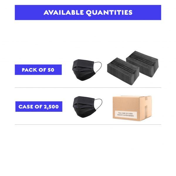 Titan Protect Black Mask Bulk Pricing