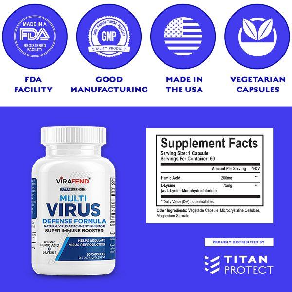 Virafend Supplement Facts Ingredients